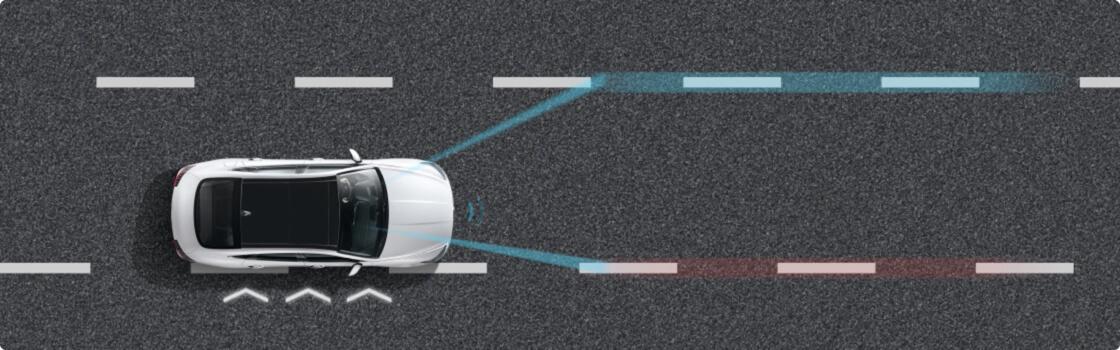 LFA车道跟随辅助系统